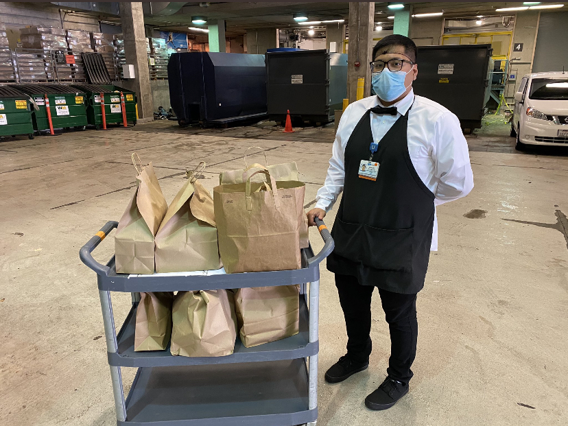 4/10/20 – FOWLA donates 50 meals from Atticus in LA to UCLA