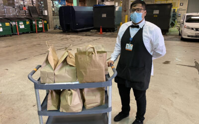 4/10/20 – FOWLA donates 50 meals from Atticus in LA to UCLA