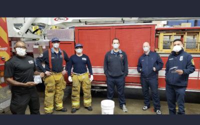 4/9/20 – FOWLA donates N95 Respirators to Firestation 92